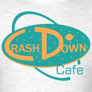 CrashDown Cafe Logo T-Shirts - Men's T-Shirt