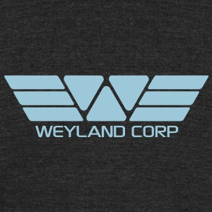 Weyland Corporation Basic T-Shirt - Unisex Tri-Blend T-Shirt by American Apparel