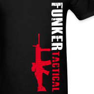 Design ~ Funker Tactical & SCAR Left Side t-shirt