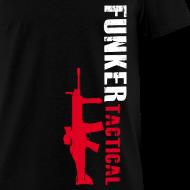 Design ~ Funker Tactical & SCAR Left Side t-shirt
