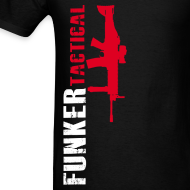 Design ~ Funker Tactical & SCAR Right Side t-shirt
