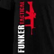 Design ~ Funker Tactical & SCAR Right Side t-shirt
