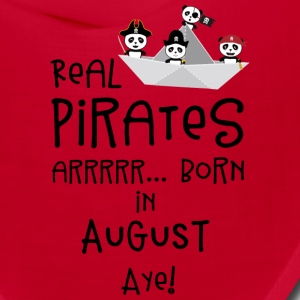 Real Pirates are born in AUGUST Ssohv Caps - Bandana