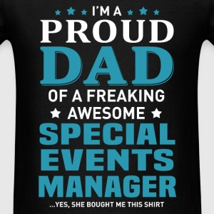 Special Events Manager's Dad - Men's T-Shirt