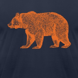 CHICAGO BEAR - Men's T-Shirt by American Apparel