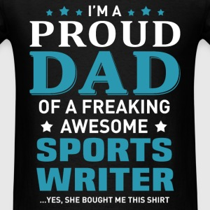Sports Writer's Dad - Men's T-Shirt