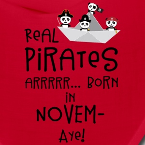 Real Pirates are born in NOVEMBER Sp4yn Caps - Bandana