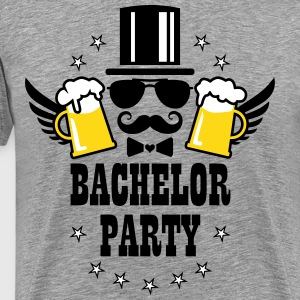 Groom Wedding Stag night Bachelor Beer Party T-Shi - Men's Premium T-Shirt