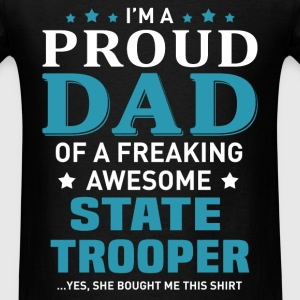 State Trooper's Dad - Men's T-Shirt