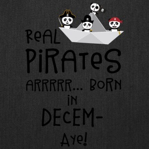 Real Pirates are born in DECEMBER Ssyxk Bags & backpacks - Tote Bag