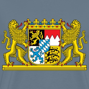 Bavaria Coat Of Arms - Men's Premium T-Shirt