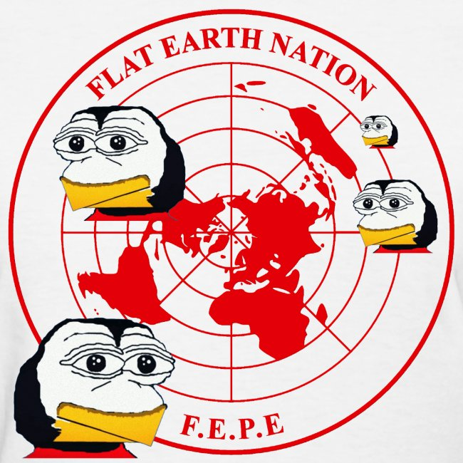 Flat earth gift factory fepes flat earth nation penguins womens fepes flat earth nation penguins gumiabroncs Image collections