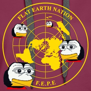 #FEPE Flat Earth Nation P Hoodies - Women's Premium Hoodie