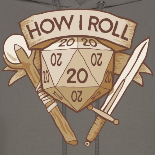 How I Roll D&D Tshirt
