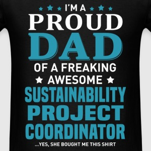 Sustainability Project Coordinator's Dad - Men's T-Shirt