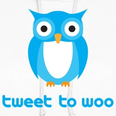 Twitter Owl - Tweet To Woo Hoodies