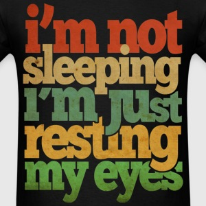 Resting My Eyes T-Shirts - Men's T-Shirt