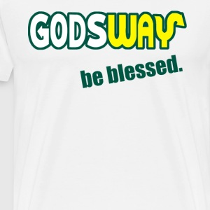 God's Way T-Shirts - Men's Premium T-Shirt