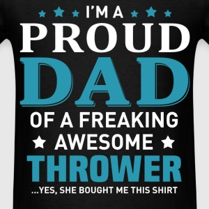 Thrower's Dad - Men's T-Shirt