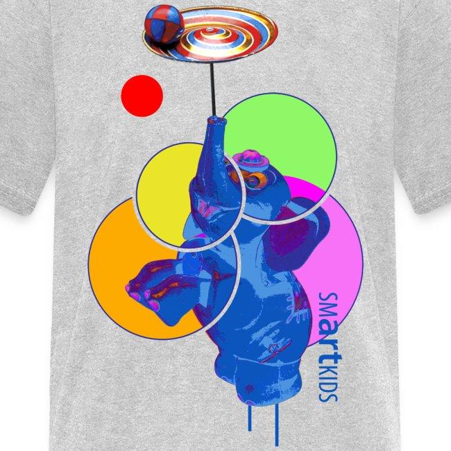 SMARTKIDS - MUMBO JUMBO - front print - s/xl kids - multi colors