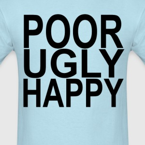poor_ugly_happy_ - Men's T-Shirt