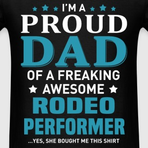 Rodeo Performer's Dad - Men's T-Shirt