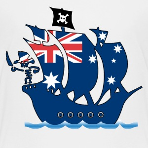 pirate ship australia Kids' Shirts - Kids' Premium T-Shirt