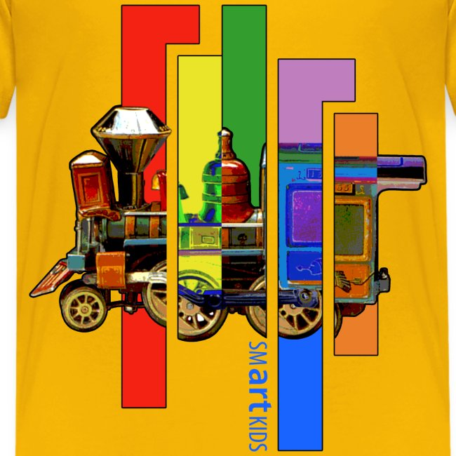 SMARTKIDS - COCO LOCOMOFO - front print - xs/l kids - multi colors