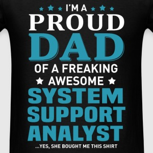 System Support Analyst's Dad - Men's T-Shirt