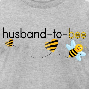 Husband To Bee.. T-Shirts - Men's T-Shirt by American Apparel