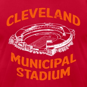 CLEVELAND MUNICIPAL STADIUM  - Men's T-Shirt by American Apparel