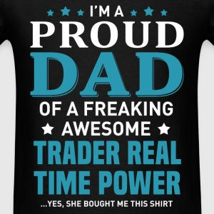 Trader Real Time Power T-Shirts - Men's T-Shirt
