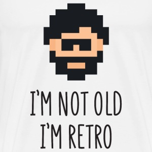 I'm not Old I'm Retro T-Shirts - Men's Premium T-Shirt
