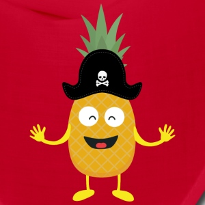 Pineapple Pirate with Hat Sk3o1 Caps - Bandana