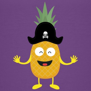 Pineapple Pirate with Hat Sk3o1 Kids' Shirts - Kids' Premium T-Shirt