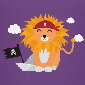 Lion Pirate with Pirateboat S4utl Baby & Toddler Shirts - Toddler Premium T-Shirt