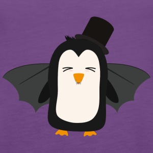 Penguin Vampire with Hat Sszqb Tanks - Women's Premium Tank Top