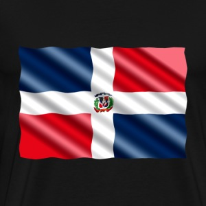 Dominican Republic Flag - Men's Premium T-Shirt