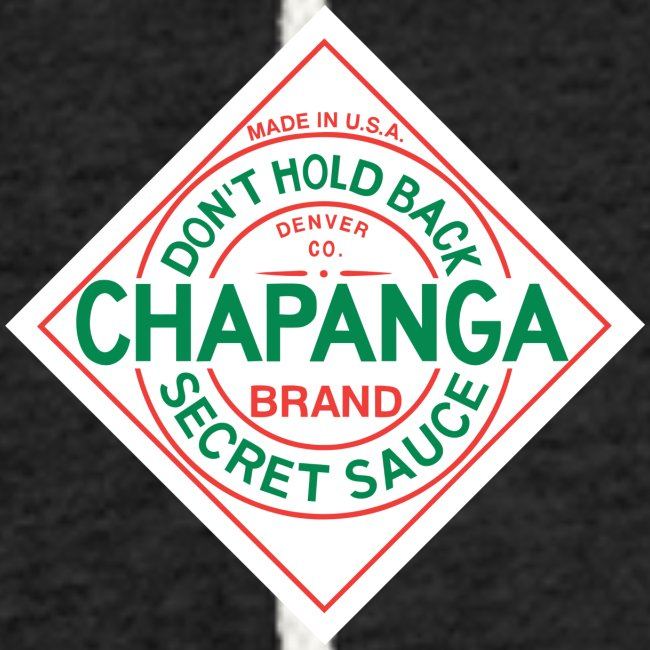 Chapanga Lightweight Terry Hoodie (lapel front)