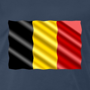 Belgium Flag - Men's Premium T-Shirt