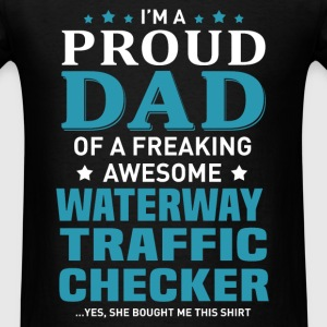 Waterway Traffic Checker T-Shirts - Men's T-Shirt