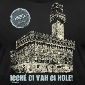 Italian cities - FLORENCE T-Shirts - Men's T-Shirt by American Apparel