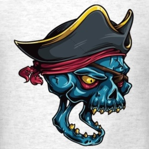Pirate Skull T-Shirts - Men's T-Shirt