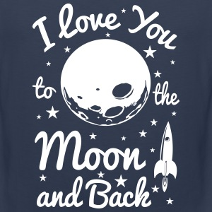 i love you to the moon Sportswear - Men's Premium Tank