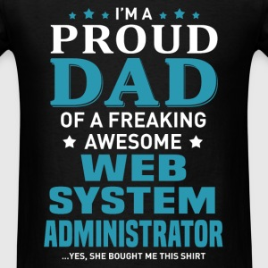 Web System Administrator T-Shirts - Men's T-Shirt