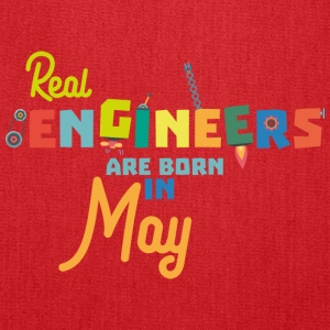 Engineers are born in May S8wv0 Bags & backpacks - Tote Bag