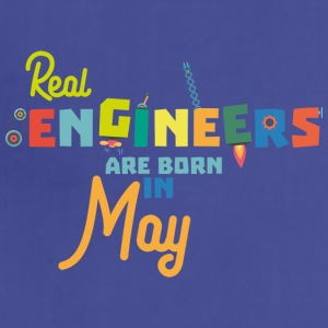 Engineers are born in May S8wv0 Aprons - Adjustable Apron