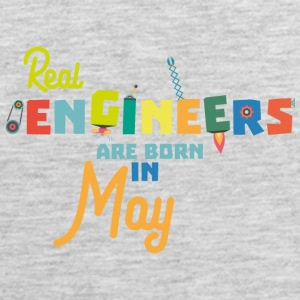 Engineers are born in May S8wv0 Sportswear - Men's Premium Tank