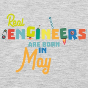 Engineers are born in May S8wv0 Long Sleeve Shirts - Men's Premium Long Sleeve T-Shirt