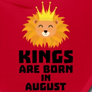 Kings are born in AUGUST S32zl Caps - Bandana
